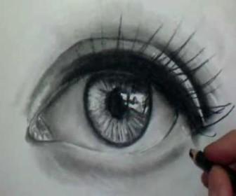 comment dessiner un oeil