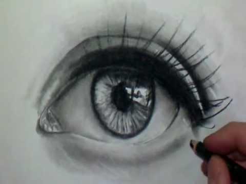 Comment dessiner un oeil - Dessin yeux facile ...