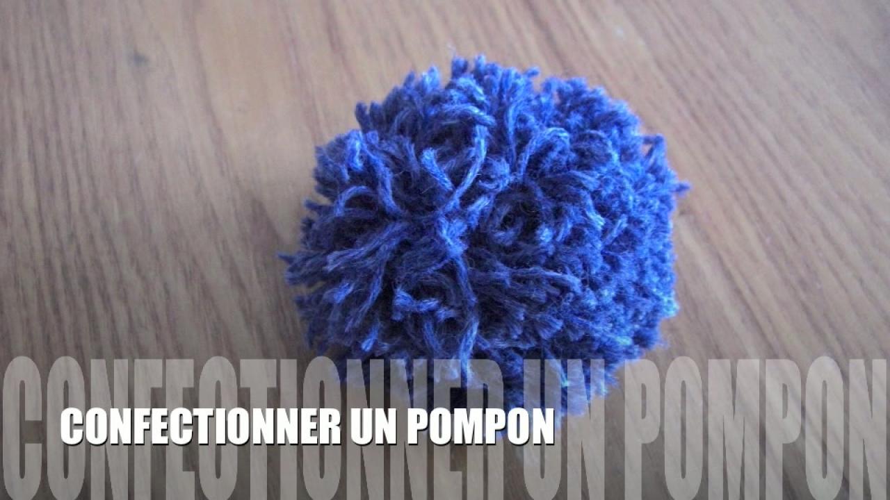 comment faire 1 pompon en laine