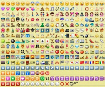 comment mettre emoticone sur iphone