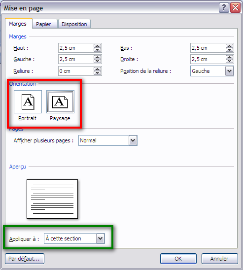 Comment mettre en format paysage sur open office - Comment faire un organigramme sur open office writer ...