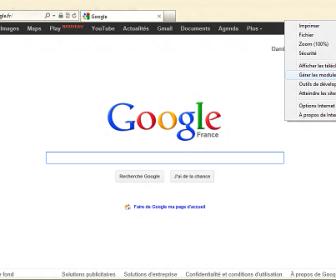 comment mettre internet explorer en français