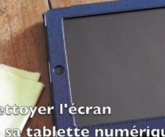 comment nettoyer tablette