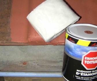 comment réparer gouttiere zinc