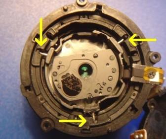 comment réparer le zoom d'un appareil photo