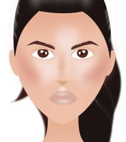 comment se coiffer comme kim kardashian