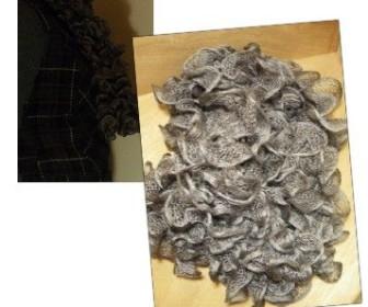 comment tricoter écharpe froufrou