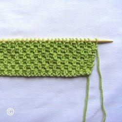 comment tricoter le point de blé