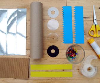 comment construire kaleidoscope
