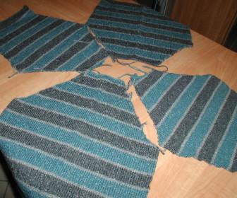 comment coudre 2 morceaux de laine