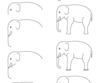 Comment dessiner l phant - Comment dessiner un diable facilement ...