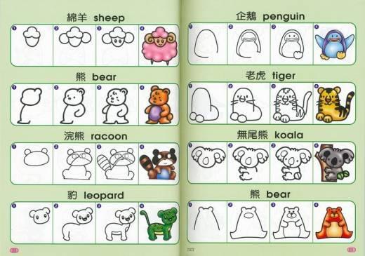 Comment dessiner animaux - Animal a dessiner ...