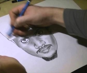 comment dessiner black m