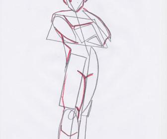 comment dessiner gohan