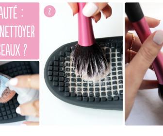 comment laver ses pinceau de maquillage