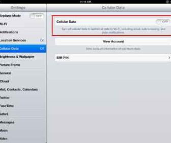 comment mettre 3g sur ipad