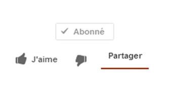 comment mettre j'aime sur youtube