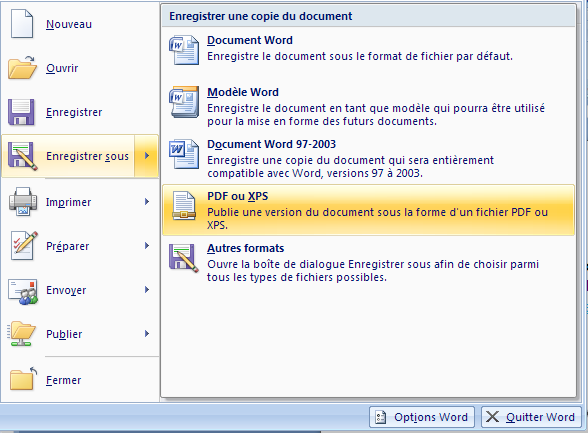 word to pdf without comments