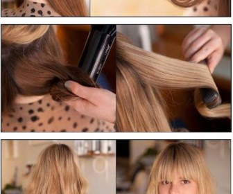 comment se coiffer le matin