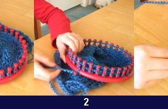 comment tricoter avec un tricotin