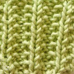 comment tricoter en cotes anglaises
