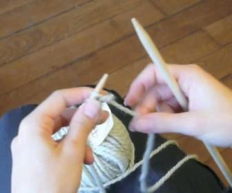 comment tricoter le point jersey
