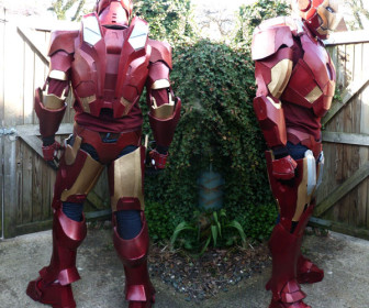comment construire armure iron man