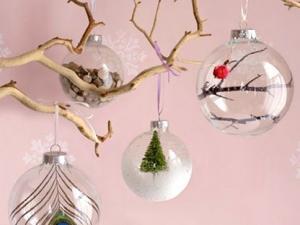 comment décorer des boules en plastique