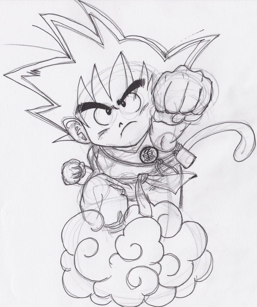 Comment Dessiner Goku