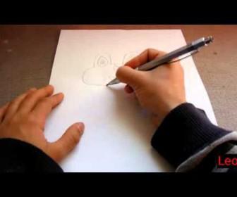 comment dessiner grenousse