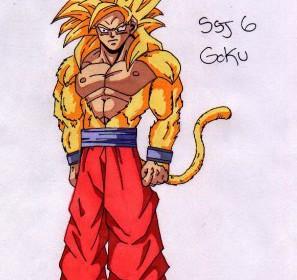 comment dessiner sangoku super saiyan 6