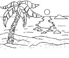 comment dessiner une île