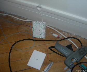 comment faire installer la fibre