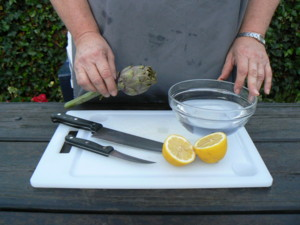 comment laver artichaut