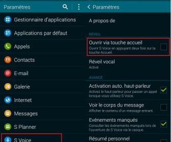 comment marche s voice galaxy s3
