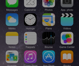 comment mettre 6 icone iphone
