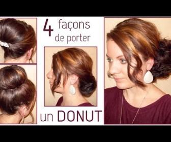 comment se coiffer avec un donut