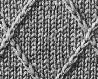 comment tricoter 2 mailles croisées à gauche