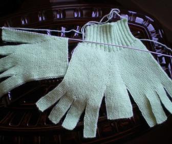 comment tricoter gants facile