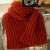 comment tricoter grosse écharpe